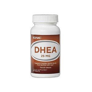 DHEA 25mg Time Elease 90 caps -  GNC