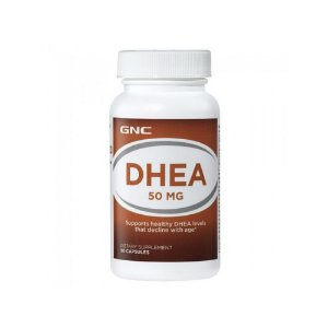DHEA  50mg Time Elease 90 Caps - GNC