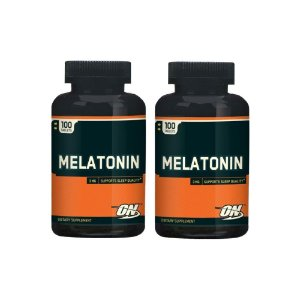 Melatonina  3mg 100 tabs kit 2 Unidades - Optimum
