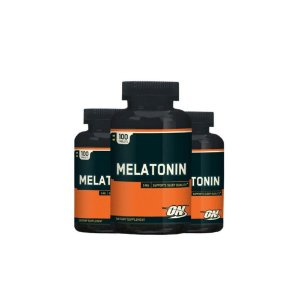 Melatonina  3mg 100 tabs kit 3 Unidades - Optimum