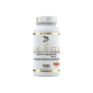 Melatonina  10mg 100 Tabs -Dragon Pharma