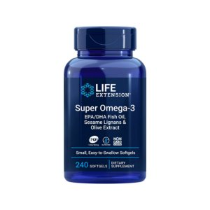 Super Omega EPA/DHA 240 Caps 2000mg - Life Extension