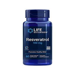 Resveratrol 100mg 60Caps -  Life Extension