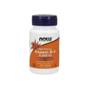 Vitamina D3  5.000ui 120 Softgels - Now