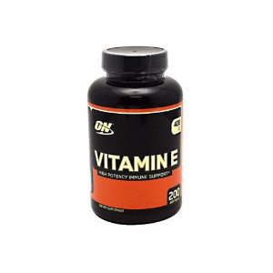 Vitamina E  400ui 200 Caps - Optimum Nutrition