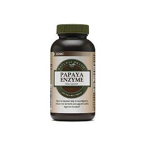 Enzima Digestiva Papaya Natural 240 Caps -GNC