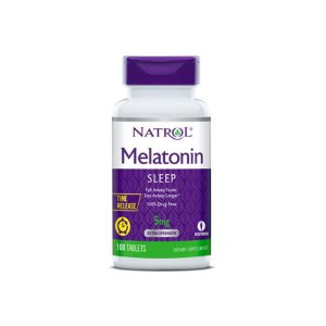 Melatonina 5mg 100 Tabs Sub-Lingual Time Release - Natrol