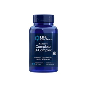 Complexo B completo BioActive  60Caps - Life Extension
