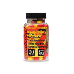 Yohimbine  5mg 90Caps - Enhanced Athlete