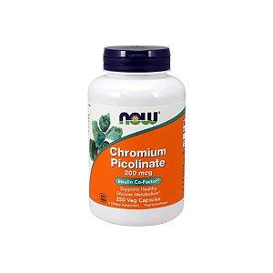 Picolinato de Cromium 200mcg 250 Caps - Now