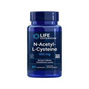 N-Acetyl-L-Cysteine  600mg 60caps - Life Extension