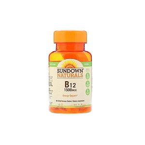 B12 1500 mcg 60Tabs - Sundown Naturals