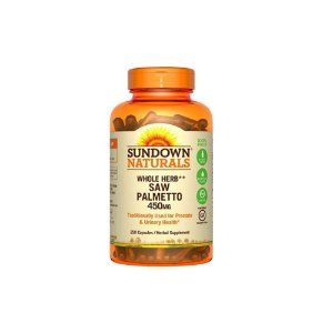 Saw Palmetto 450mg 250Caps - Sundown Naturals