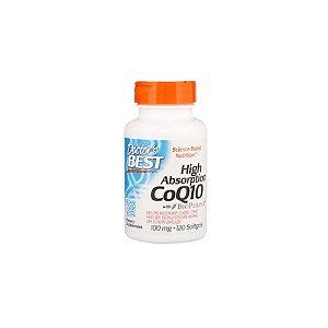 CO Q10 de Alta Absorção Com BioPerine 100mg 120Caps - Doctor's Best