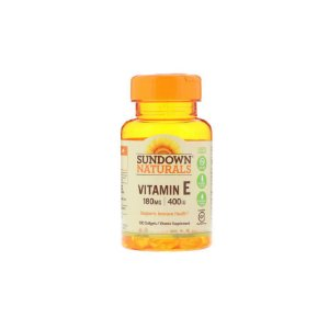 Vitamina E 180mg 100Caps - Sundown Naturals