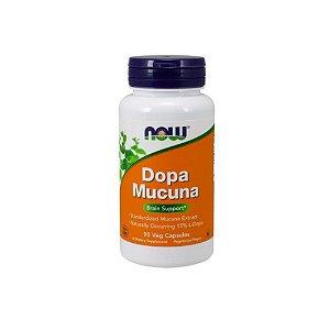 Dopa Mucuna 90 Caps - Now