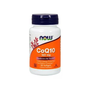 COQ10 100mg 50 Caps - Now