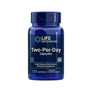 Multivitaminico Two Per Day 120 Caps - Life Extension