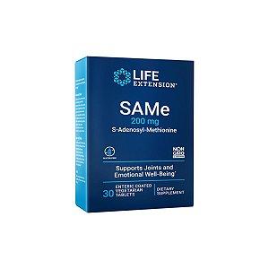 SAMe Adenosyl Methionine  200 mg 30 Caps - Life Extension