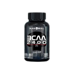 Bcaa 2400 100 Tablets - Black Skul
