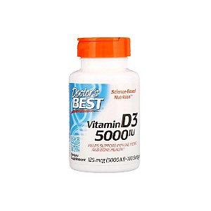 Vitamin D3  5.000ui 180 Caps - Doctor Best