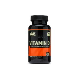 Vitamin D3 5.000ui 200 Caps - Optimum Nutrition