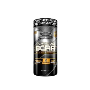 Bcaa 100%Platinum 8:1:1 60Caps 1000Mg - Muscletech