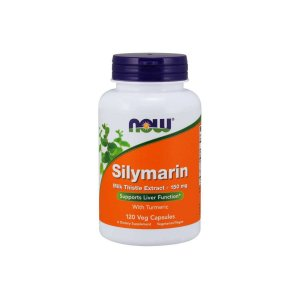 Silymarin Milk Thistle Extract 150mg 120 Cápsulas Vegetarianas - Now