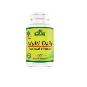 Multivitamínico Multi Daily 120 Tablets - Alfa Vitamins