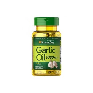 Oleo de Alho Garlic Oil 1000 mg - Puritans Pride