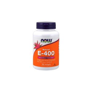 Vitamina E-400 d-alpha Tocopheryl 100 Caps - Now Foods