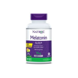 Melatonina 10mg Sub-Lingual 100 Tabs Ação Rápida - Natrol