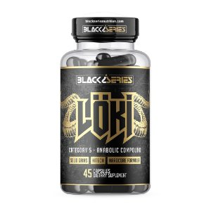 Pro-Hormonal Loki 45 Caps - Black Series