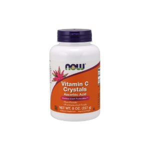 Vitamina C Powder Crystals Ascorbic Acid 227g 45mg - Now Foods