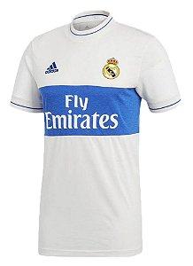c71170b56e Camisa Adidas Real Madrid Retro - linha Icon | Torcedor Masculina