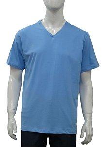 T-Shirt Promo - Algodão - Gola V