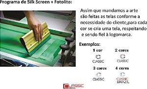 Programa de silk ( tela + fotólito)