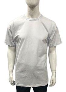 Camiseta promocional - Algodão - Gola Careca - lisa