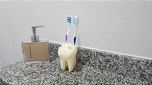 Dente porta escova