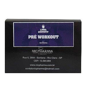 Pré Workout Linha CrossFit Nicpharma 30 envelopes