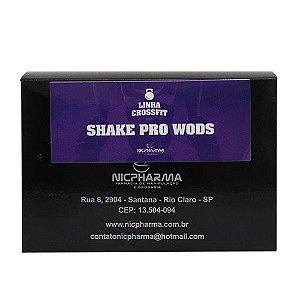 Shake Pro Wods Linha CrossFit Nicpharma 30 envelopes