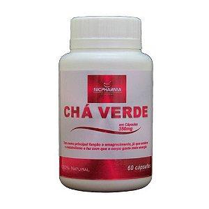 Cha Verde 350mg/60 cápsulas Nicpharma