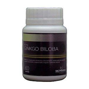 Ginkgo Biloba 80mg/60 cápsulas Nicpharma