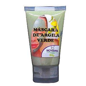 Mascara de Argila Verde 60gr Nicpharma