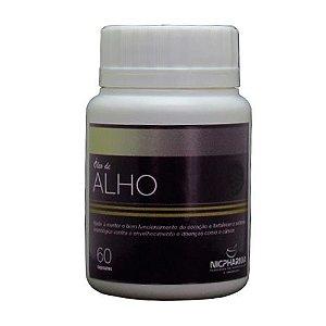 Oleo de Alho 250mg 60 cápsulas Nicpharma