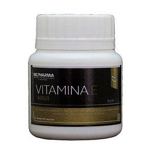 Vitamina E 400Ui 30 cápsulas Nicpharma