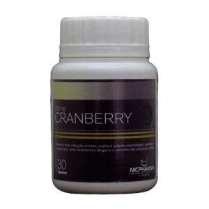 Cranberry 500mg 30 cápsulas Nicpharma