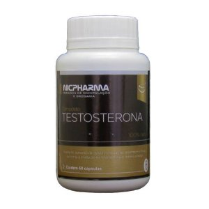 Composto Testosterona 60 cápsulas Nicpharma