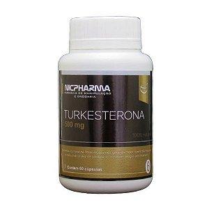 Turkesterona 500mg 60 cápsulas Nicpharma