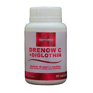 Drenow C 340mg + Diglothin 140mg 90 cápsulas Nicpharma